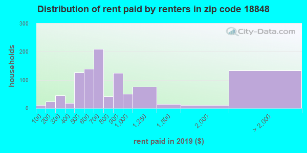 18848 rent paid by renters