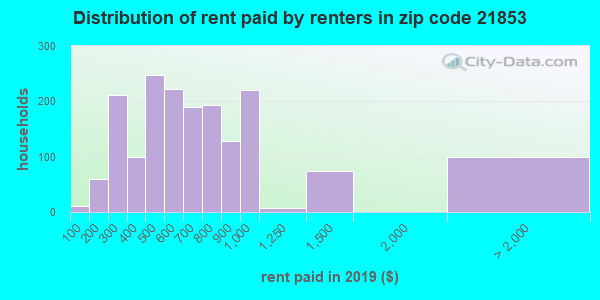 21853 rent paid by renters