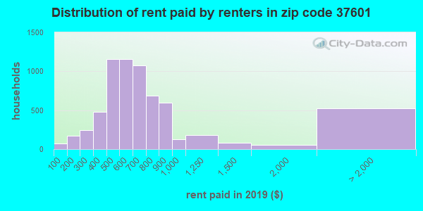 37601 rent paid by renters