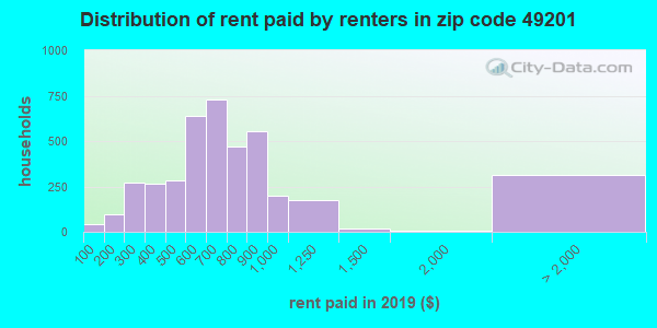 49201 rent paid by renters