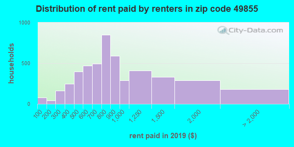 49855 rent paid by renters