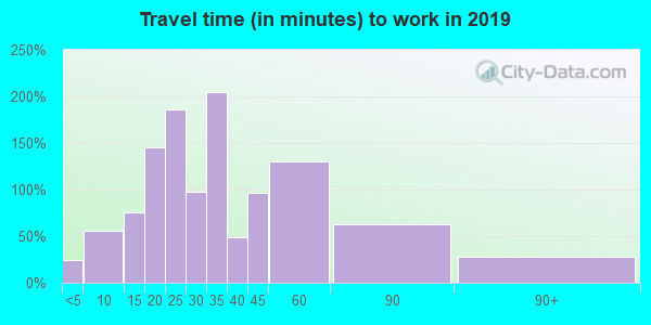 03602 zip code travel time to work (commute)
