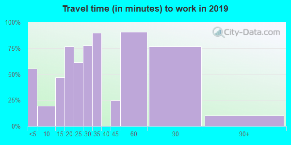03864 zip code travel time to work (commute)