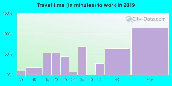 08310 zip code travel time to work (commute)