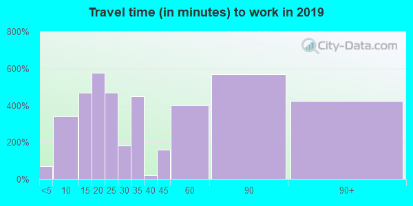 10989 zip code travel time to work (commute)
