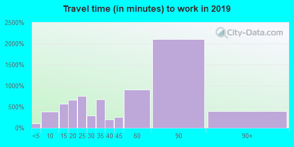 11030 zip code travel time to work (commute)