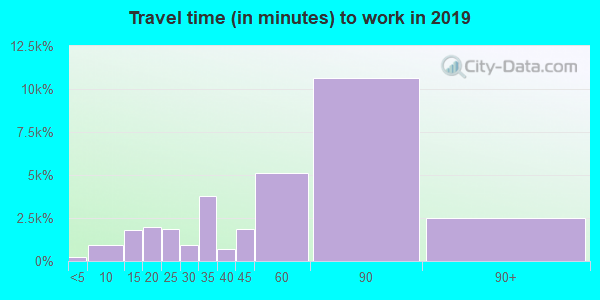 11223 zip code travel time to work (commute)