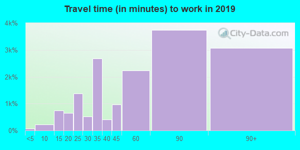 11422 zip code travel time to work (commute)