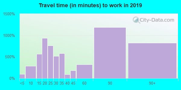 11753 zip code travel time to work (commute)