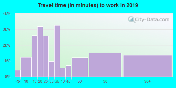 11779 zip code travel time to work (commute)