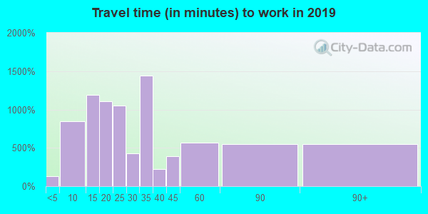11788 zip code travel time to work (commute)