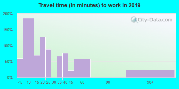 12481 zip code travel time to work (commute)
