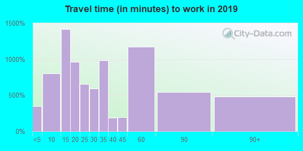 12561 zip code travel time to work (commute)