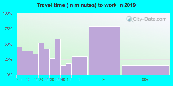 13635 zip code travel time to work (commute)