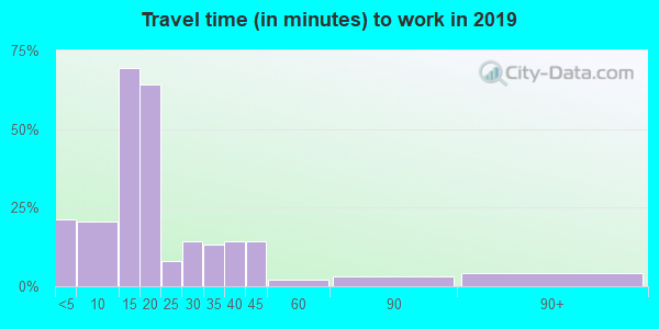 16113 zip code travel time to work (commute)