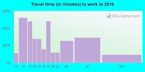 16226 zip code travel time to work (commute)