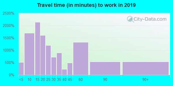 17325 zip code travel time to work (commute)