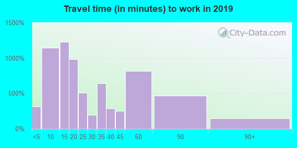 29379 zip code travel time to work (commute)