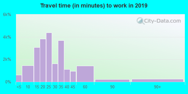 29412 zip code travel time to work (commute)