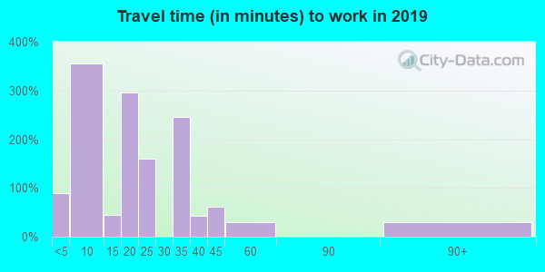 29439 zip code travel time to work (commute)
