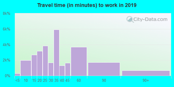 29485 zip code travel time to work (commute)