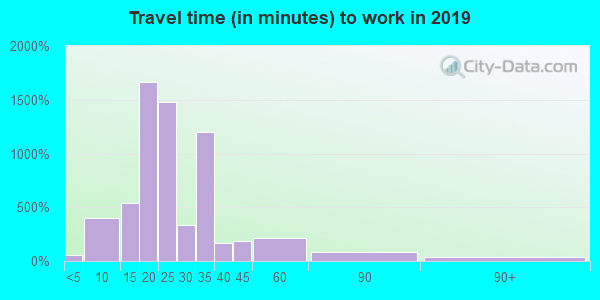 29568 zip code travel time to work (commute)