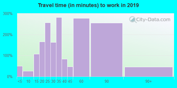 29581 zip code travel time to work (commute)