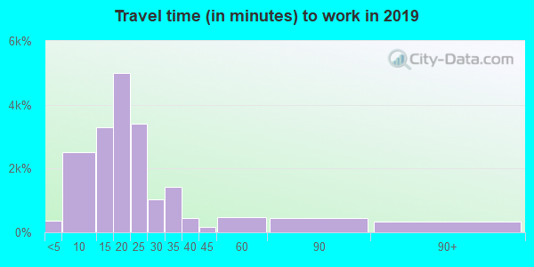 29615 zip code travel time to work (commute)