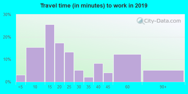29667 zip code travel time to work (commute)