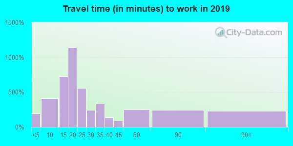 29691 zip code travel time to work (commute)