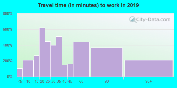 30217 zip code travel time to work (commute)