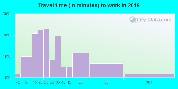 30312 zip code travel time to work (commute)