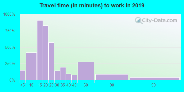 30313 zip code travel time to work (commute)