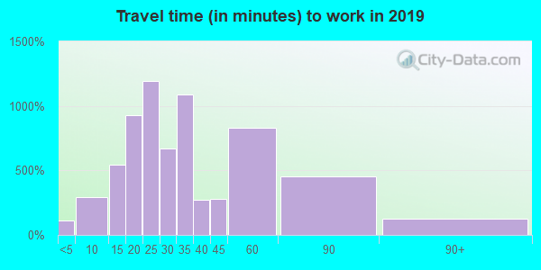 30317 zip code travel time to work (commute)