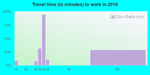 31772 zip code travel time to work (commute)