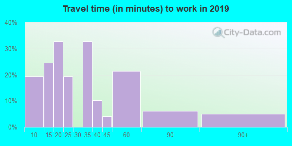31812 zip code travel time to work (commute)