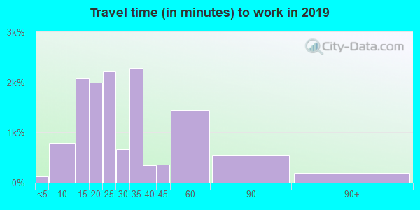 33510 zip code travel time to work (commute)