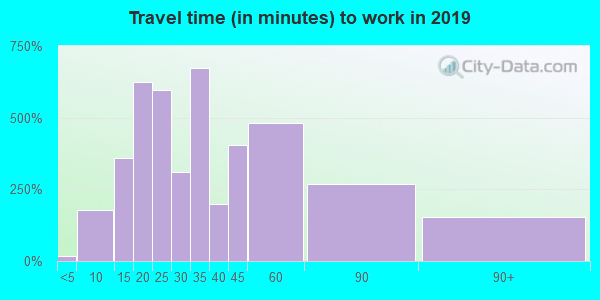 37037 zip code travel time to work (commute)