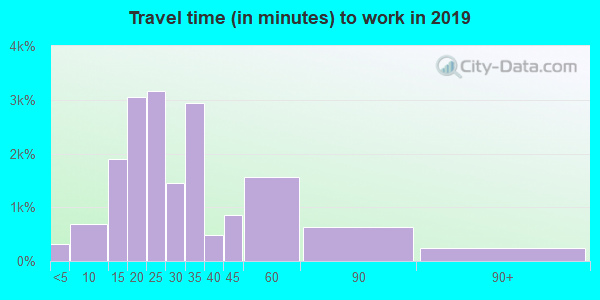 37217 zip code travel time to work (commute)