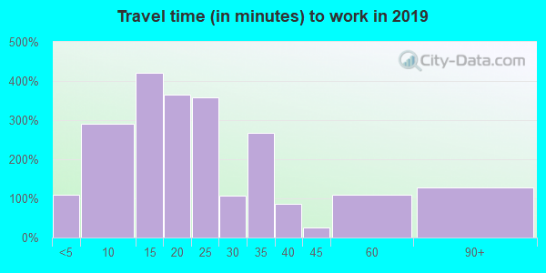 38225 zip code travel time to work (commute)
