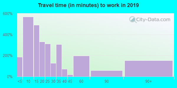 38375 zip code travel time to work (commute)