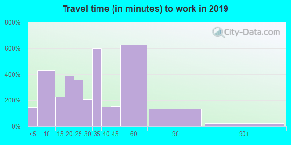 38382 zip code travel time to work (commute)