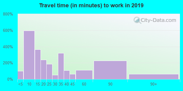 38485 zip code travel time to work (commute)