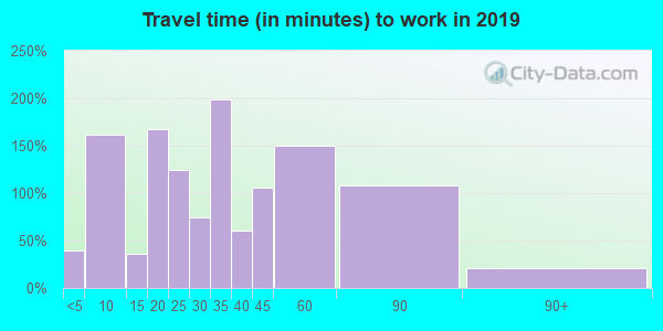 38585 zip code travel time to work (commute)