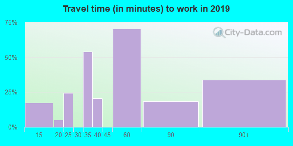 41828 zip code travel time to work (commute)