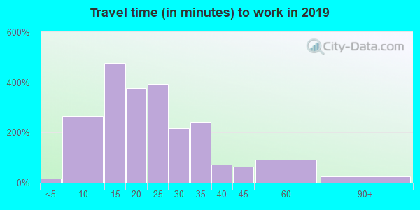 48120 zip code travel time to work (commute)
