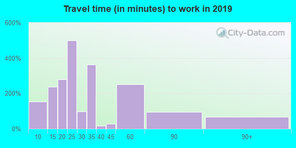 48217 zip code travel time to work (commute)