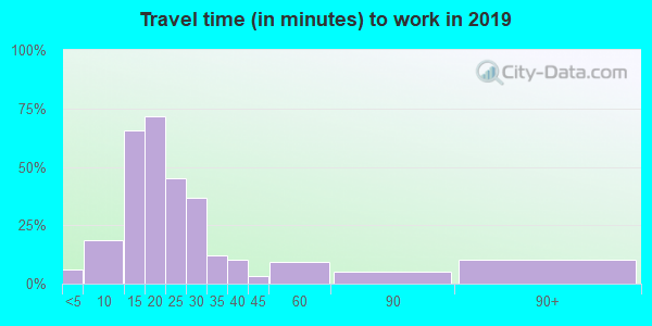 48738 zip code travel time to work (commute)