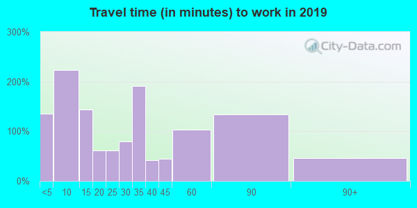 48811 zip code travel time to work (commute)