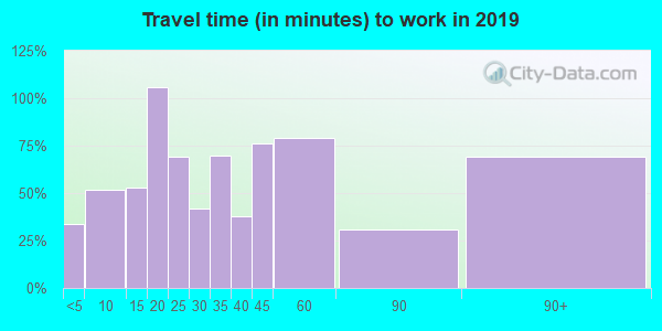 49271 zip code travel time to work (commute)